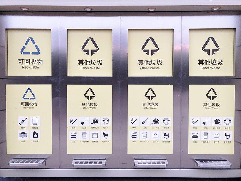 福州垃圾分类厂家:社区物业新建经济型垃圾分类流转收集点